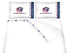 NHL Columbus Blue Jackets Micro Fiber Bed Sheets