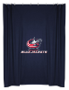 NHL Columbus Blue Jackets Shower Curtain
