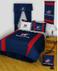 NHL Columbus Blue Jackets Comforter - Sidelines Series