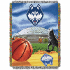 NCAA Connecticut Huskies Home Field Advantage 48x60 Tapestry Throw