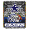 NFL Dallas Cowboys Home Field Advantage 48x60 Tapestry Throw