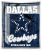 NFL Dallas Cowboys Sherpa MINK 50x60 Throw Blanket
