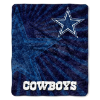 NFL Dallas Cowboys Sherpa STROBE 50x60 Throw Blanket