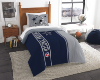 NFL Dallas Cowboys Twin Comforter with Sham