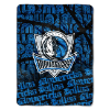 NBA Dallas Mavericks 50x60 Micro Raschel Throw