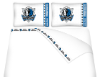 NBA Dallas Mavericks Micro Fiber Bed Sheets