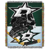 NHL Dallas Stars Home Ice Advantage 48x60 Tapestry Throw