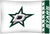 NHL Dallas Stars Micro Fiber Pillow Cases (set of 2)