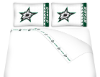 NHL Dallas Stars Micro Fiber Bed Sheets