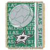 NHL Dallas Stars 48x60 Triple Woven Jacquard Throw