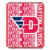 NCAA Dayton Flyers FOCUS 48x60 Triple Woven Jacquard Throw