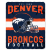 NFL Denver Broncos 50x60 Fleece Throw Blanket