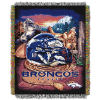 NFL Denver Broncos Home Field Advantage 48x60 Tapestry Throw
