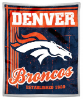 NFL Denver Broncos Sherpa MINK 50x60 Throw Blanket