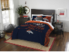 NFL Denver Broncos QUEEN Comforter and 2 Shams