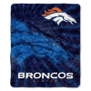 NFL Denver Broncos Sherpa STROBE 50x60 Throw Blanket