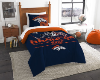NFL Denver Broncos Twin Comforter Set