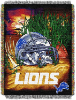 NFL Detroit Lions Home Field Advantage 48x60 Tapestry Throw
