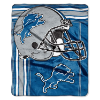 NFL Detroit Lions 50x60 Raschel Throw