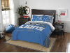NFL Detroit Lions QUEEN Comforter and 2 Shams