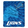 NFL Detroit Lions Sherpa STROBE 50x60 Throw Blanket