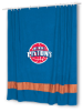 NBA Detroit Pistons Shower Curtain - MVP Series