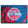 NBA Detroit Pistons 40x60 Tufted Rug