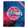 NBA Detroit Pistons SHERPA 50x60 Throw Blanket