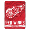 NHL Detroit Red Wings 50x60 Micro Raschel Throw
