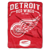 NHL Detroit Red Wings 60x80 Super Plush Throw Blanket