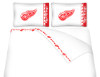 NHL Detroit Red Wings Micro Fiber Bed Sheets