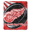 NHL Detroit Red Wings SHERPA 50x60 Throw Blanket