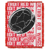 NHL Detroit Red Wings 48x60 Triple Woven Jacquard Throw