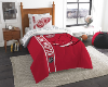 NHL Detroit Red Wings TWIN Size Bed In A Bag