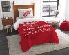 NHL Detroit Red Wings Twin Comforter Set