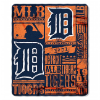 MLB Detroit Tigers 50x60 Fleece Throw Blanket