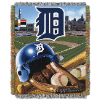 MLB Detroit Tigers Home Field Advantage 48x60 Tapestry Throw