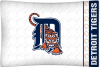 MLB Detroit Tigers Micro Fiber Pillow Cases (set of 2)