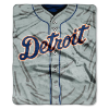 MLB Detroit Tigers 50x60 Raschel Throw