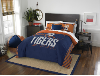 MLB Detroit Tigers QUEEN Comforter and 2 Shams