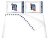 MLB Detroit Tigers Micro Fiber Bed Sheets