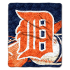 MLB Detroit Tigers SHERPA 50x60 Throw Blanket