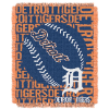 MLB Detroit Tigers 48x60 Triple Woven Jacquard Throw