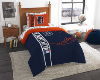 MLB Detroit Tigers TWIN Size Bed In A Bag