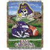 NCAA East Carolina Pirates Home Field Advantage 48x60 Tapestry Throw