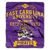 NCAA East Carolina Pirates 50x60 Raschel Throw Blanket