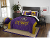 NCAA East Carolina Pirates QUEEN Comforter and 2 Shams
