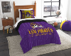 NCAA East Carolina Pirates Twin Comforter Set