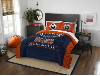 NHL Edmonton Oilers QUEEN Comforter and 2 Shams
