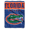 NCAA Florida Gators OVERTIME 60x80 Super Plush Throw